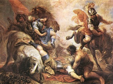Conversion of St. Paul, road to Damascus.