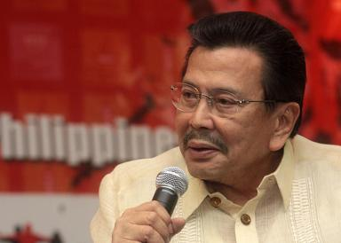 Former President and now Manila Mayor Joseph Ejercito Estrada