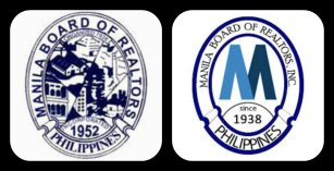 Left: Old Manila Board of Realtors Logo Right: New Manila Board of Realtors Logo