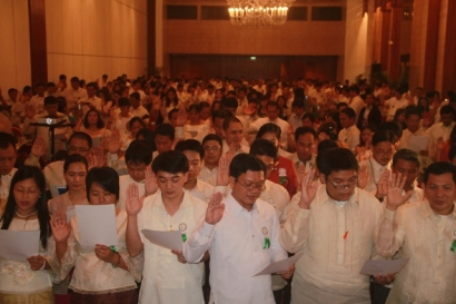Oath taking of Salespersons