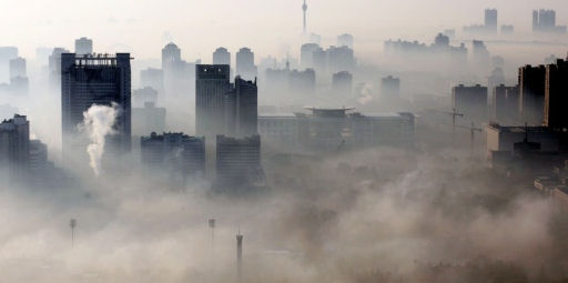 The World's most polluted city, Linfen, China. Photo Source: china-mike.com